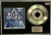 "STATUS QUO - DEAR JOHN - 7"" Platinum Disc+cover"